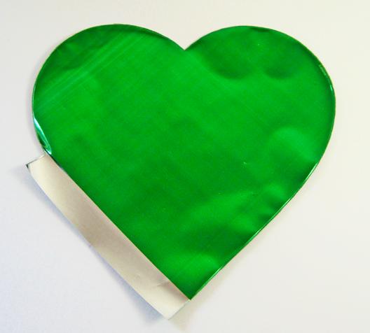 Saquinho Surpresa Coração P - Verde | 20 UNIDADES