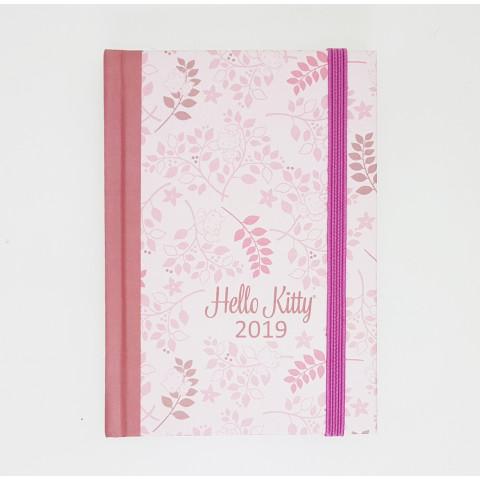 Agenda Teca Semanal mini – Artista HELLO KITTY Leaf