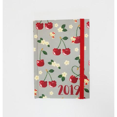 Agenda Teca Semanal mini – Artista HELLO KITTY Cherry