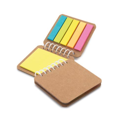 Caderneta - Bloco de anotação Post-it 7,5 x 7cm - 10 UNIDADES