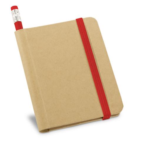 Caderneta - Bloco de anotações com Lápis 8,2 x 10,5cm - 10 UNIDADES