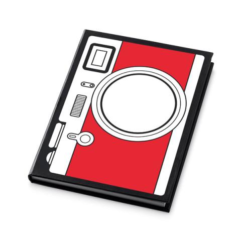 Caderneta - Capa Dura Decorado 11 x 14,8cm - unitário