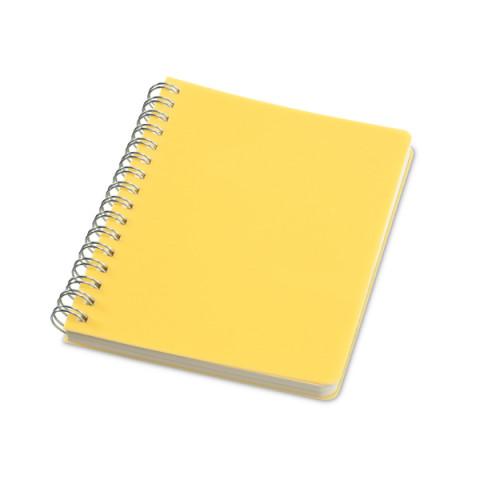Caderneta - Capa Plástico Rígido PP 10,3 x 14cm - unitário