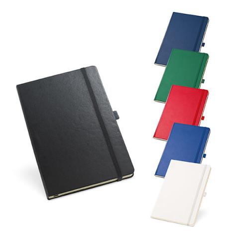 Caderno - Capa Dura com Bolso Interior 13,7 x 21cm - unitário