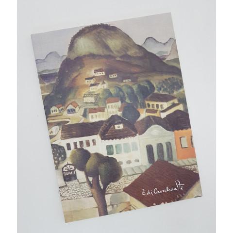 Caderno Teca Flexível Pautado Médio – Artista DI CAVALCANTI Paisagem