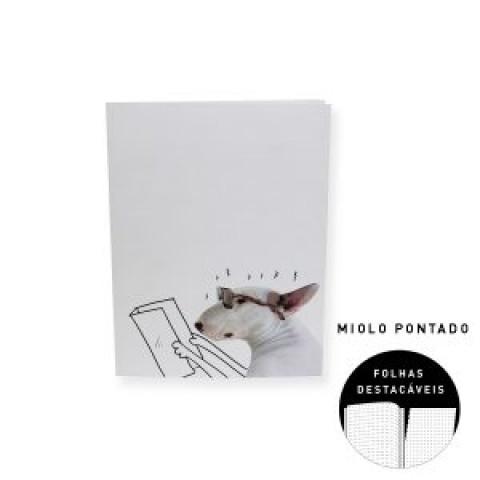 Caderno Teca Flexível Pautado Médio – Artista RAFAEL MANTESSO Jimmy Leitura