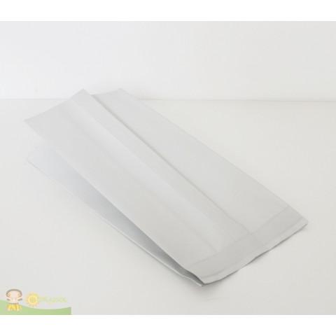 Embalagem Sanfonada | Branco Fosco - 100 UNIDADES