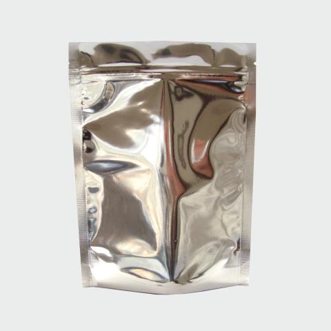 Saco Metalizado com Zip Lock 14 x 19cm - 500UN