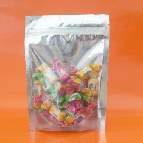 Saco Metalizado + Transparente Zip Lock 17 x 23,5cm - 50 UNIDADES