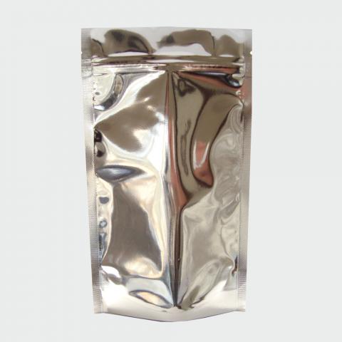 Saco Metalizado com Zip 10 x 19,5 cm - 500UN