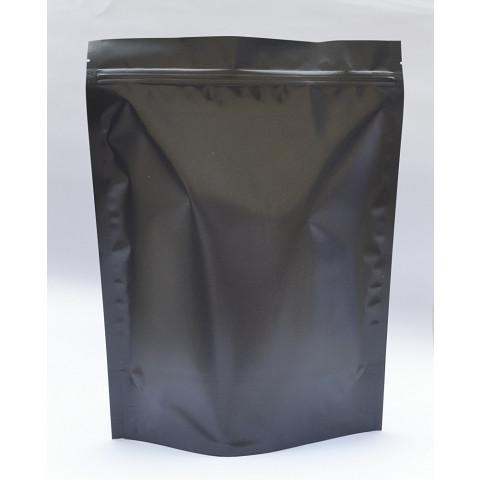 Saco Preto Fosco com Zip Lock 30 x 43cm - 50 UNIDADES
