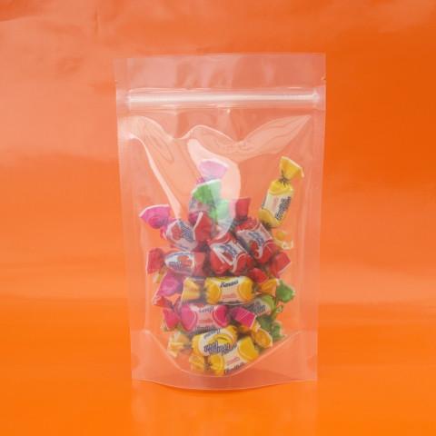 Saco Transparente com Zip Lock 12,5 x 19,5cm - 100 UNIDADES