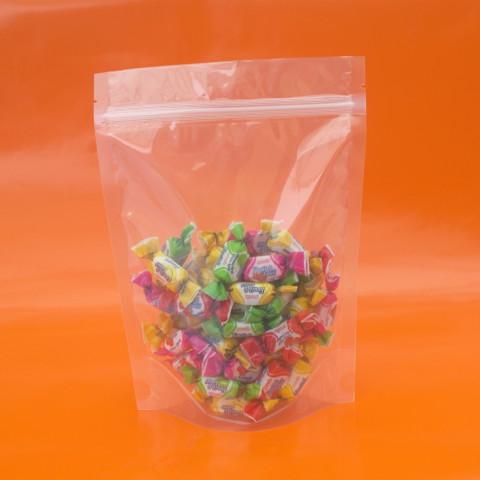 Saco Transparente Zip Lock 20,5 x 27,5cm - 100 UNIDADES