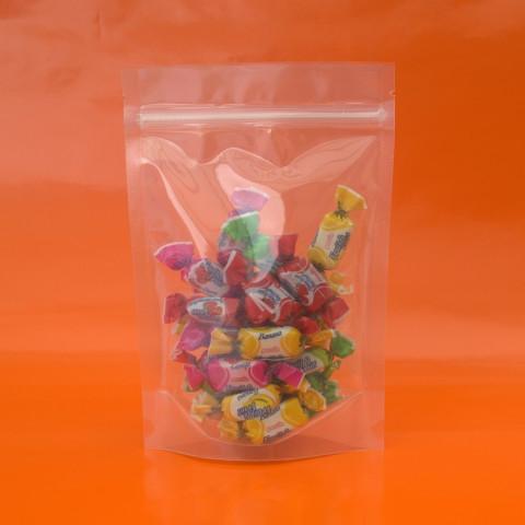 Saco Transparente com Zip Lock 8 x 12cm - 100 UNIDADES