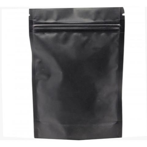 Saco Preto Fosco com Zip 14 x 19cm - 50 UNIDADES