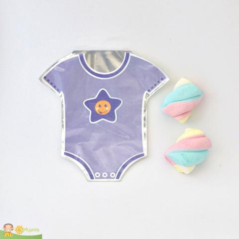 Saquinho Surpresa Baby - Body Lilás  - 20 UNIDADES