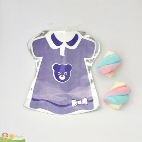 Saquinho Surpresa Baby - Vestido Lilás  - 20 UNIDADES