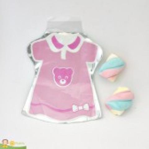 Saquinho Surpresa Baby - Vestido Rosa  - 20 UNIDADES