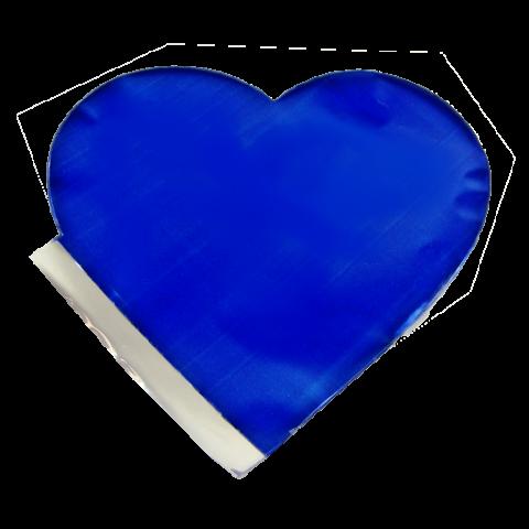 Saquinho Surpresa Coração P - Azul Escuro | 20 UNIDADES