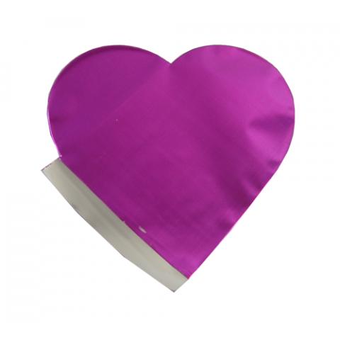 Saquinho Surpresa Coração  P - Lilás - 20 UNIDADES
