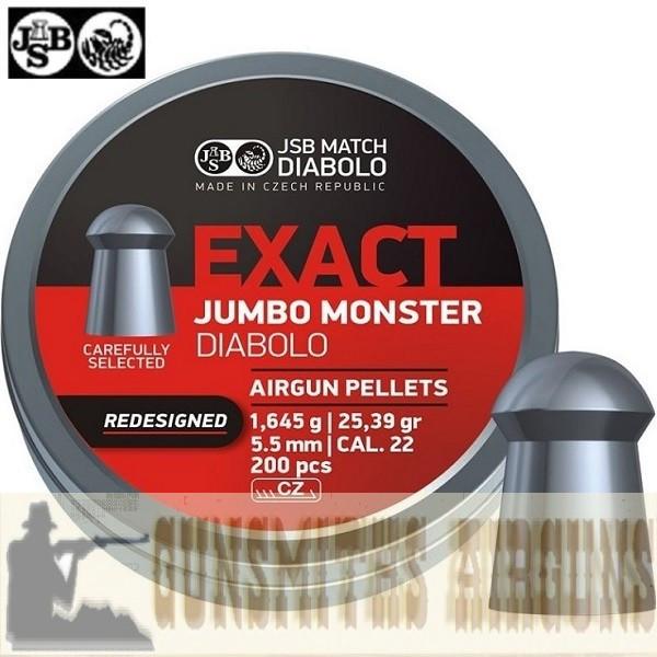 CHUMBINHO JSB EXACT JUMBO MONSTER REDESIGNED ORIGINAL 5,52MM