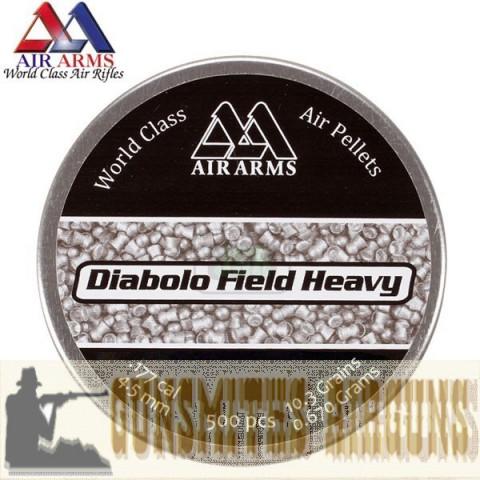 CHUMBINHO AIR ARMS DIABOLO FIELD HEAVY 4,52MM