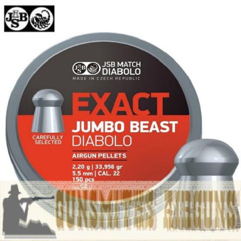 CHUMBINHO JSB EXACT JUMBO BEAST ORIGINAL 5,52MM