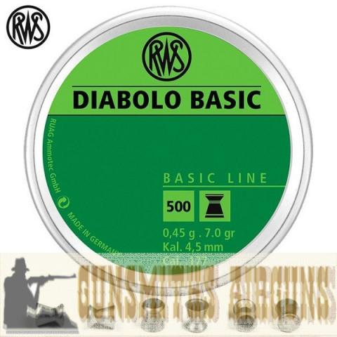 CHUMBINHO RWS DIABOLO BASIC LINE 4.50MM