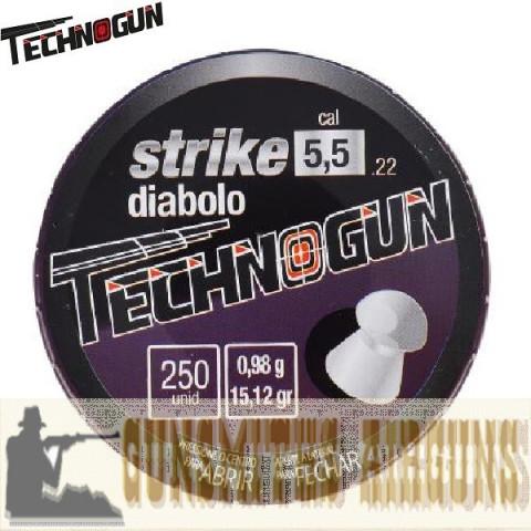 CHUMBINHO TECHNOGUN STRIKE 5.5MM 250UN