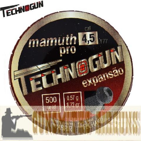 CHUMBINHO TECHNOGUN MAMUTH PRO 4.5MM 500UN