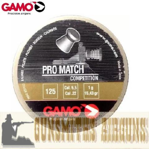 CHUMBINHO GAMO PRO MATCH COMPETITION 5,5MM
