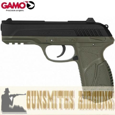 PISTOLA CO2 GAMO PT-85 BLOWBACK OLIVE-BLACK 4,5MM