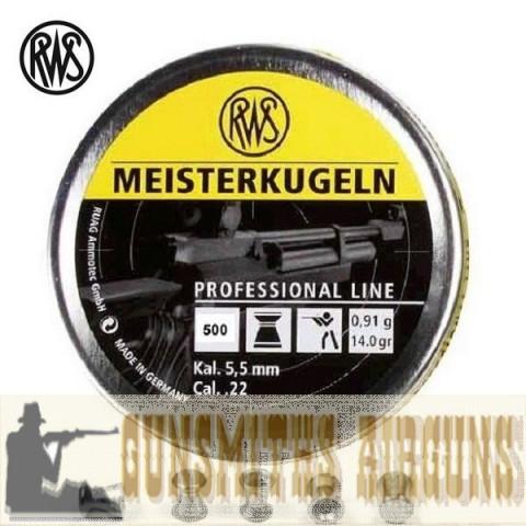 CHUMBINHO RWS MEISTERKUGELN 5,50MM