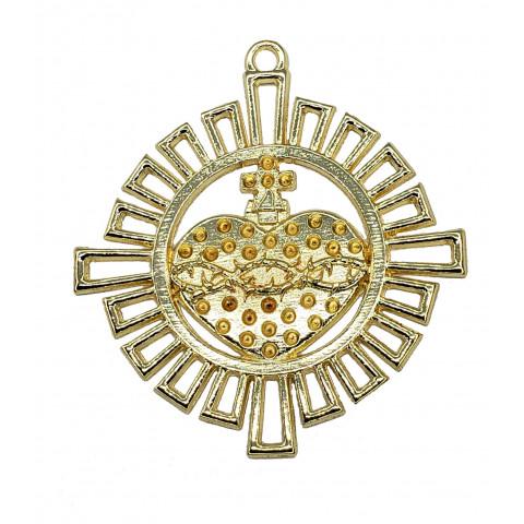Medalha Coração de Jesus M241