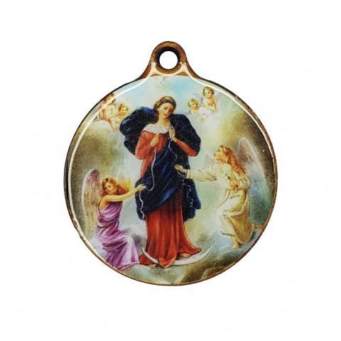 Medalhão de Madeira MR05