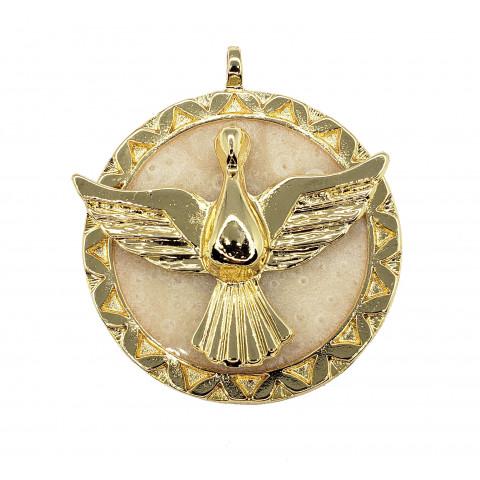 Medalha Divino Espírito Santo M242