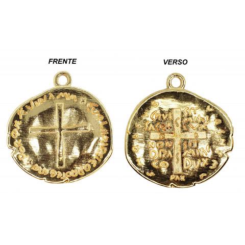 Duas Cruzes Medalha M254P