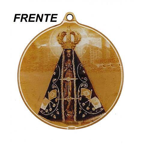Medalhão de Madeira MR01