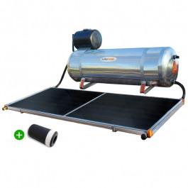 Aquecedor Solar Solarmax Eco 200 com Coletor Solar de 1,6m² + VAC Válvula Atenuante de Congelamento. Pronto para Instalar!
