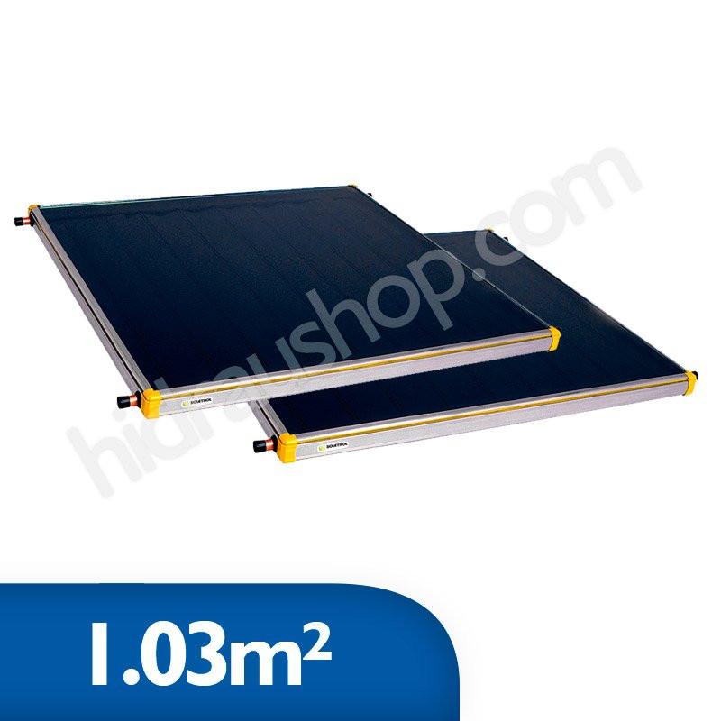 Coletor Solar Soletrol 1,03m² - Embalagem e Preço para 2 coletores
