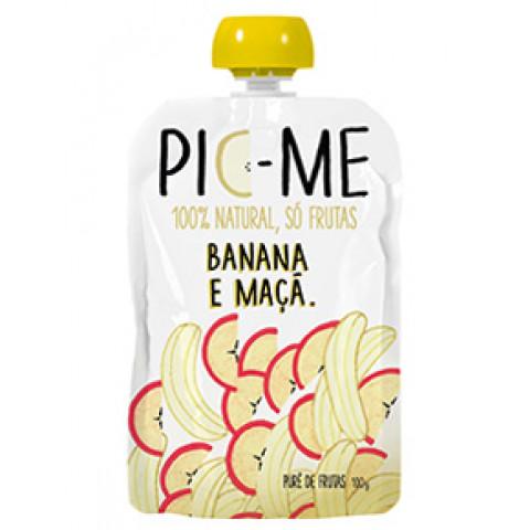 Squeeze De Frutas, Banana E Maçã 100g - Pic-Me