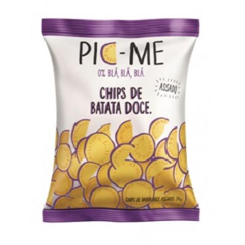 Chips De Batata Doce 34g - Pic-Me