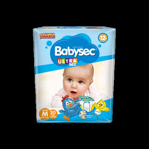 FRALDA BABYSEC ULTRASEC