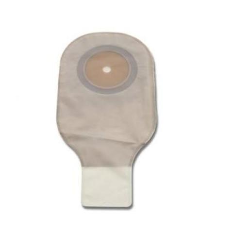 PREMIER 8631 - 1 peça - Bolsa Drenável Transparentes, Barreira Plana c Adesivo e Fechamento Clamp