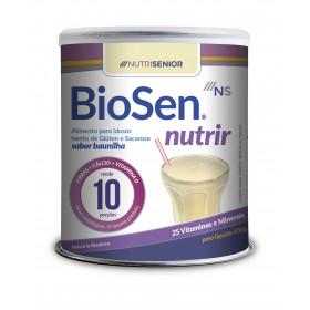 Biosen Nutrir Baunilha Lata 400g - Complemento Alimentar