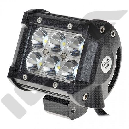 FAROL AUXILIAR DE LED CREE - 18W / 12V (PAR)