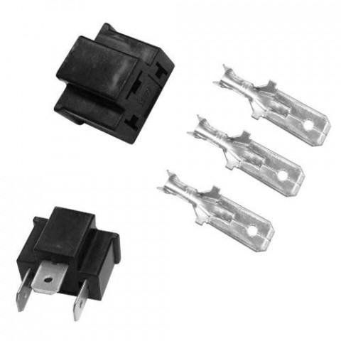 Kit-soquete Conector Macho P/ Farol Universal Lampada H4