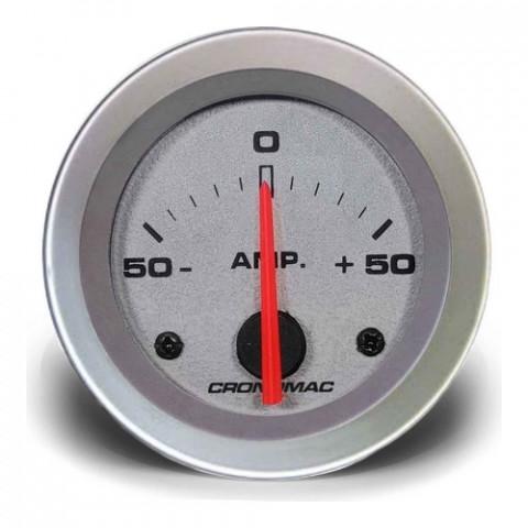 Amperímetro 50A - Linha Racing