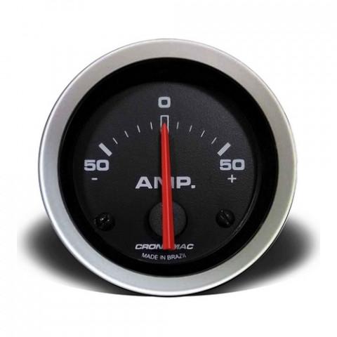 Amperímetro 50A - Linha Sport