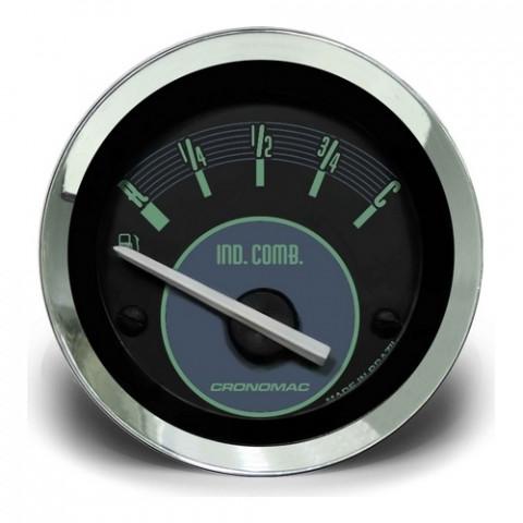 Indicador de Nível de Combustivel 52mm - Linha Volks Verde